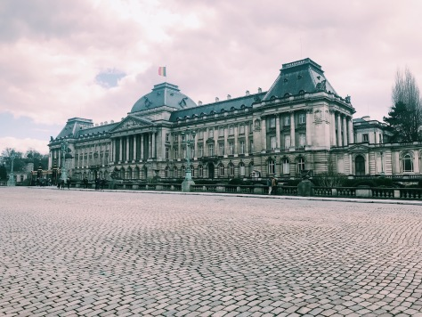 The Royal Palace of Belgium